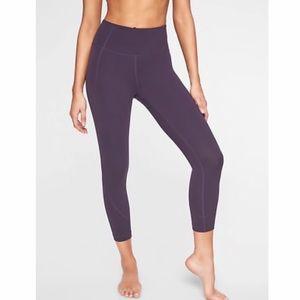 Athleta Capri Purple Drama Yoga Tight